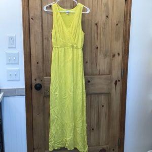 Oldnavy yellow maxi dress